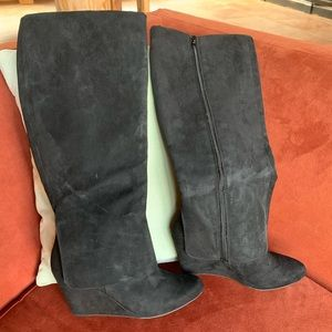 NWT Jessica Simpson tall wedge boots